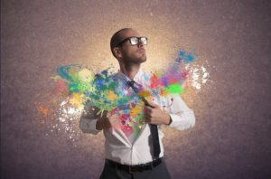 Concept of creativity and power in business